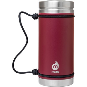 MIZU V5 Botella con aislamiento con Tapa en V 500ml, enduro burgundy